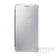 Samsung Galaxy A5 (2016) gyári Clear View Cover flip tok, ezüst, EF-ZA510CS, (SM-A510) tok és táska