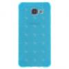Samsung Galaxy A5 (2016) SM-A510F, TPU szilikon tok, kockaminta, világoskék