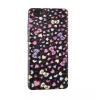 Samsung Galaxy A5 (2016) SM-A510F, TPU szilikon tok, Print case, 3D szív minta, fekete