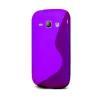 Samsung Galaxy Fame Lite S6790, TPU szilikon tok, S-Line, lila