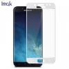 Samsung Galaxy J5 (2017) SM-J530F, Kijelzővédő fólia, ütésálló fólia (az íves részre is!), Tempered Glass (edzett üveg), IMAK, fehér