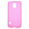 Samsung Galaxy S5 SM-G900, TPU szilikon tok, rózsaszín