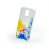 Samsung Galaxy S5 SM-G900, UltravĂŠkony ColorDesign TPU, festĂŠkfoltos minta, ĂĄtlĂĄtszĂł