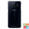 Samsung Galaxy S7 Edge átlátszó tok, Fekete