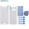 Samsung Galaxy S7 SM-G930, Kijelzővédő- és hátlapvédő fólia (az íves részre is!), Momax Pro, Clear