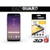 Samsung Galaxy S8 Plus SM-G955, Kijelzővédő fólia (az íves részre is), Eazy Guard, Diamond Glass (Edzett gyémántüveg), 3D Fullcover , fekete