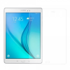 Samsung Galaxy Tab A 9.7 SM-T550, Kijelzővédő fólia, ütésálló fólia, Tempered Glass (edzett üveg), Clear