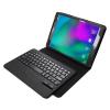 Samsung Galaxy Tab E 9.6 SM-T560 / T561, Bluetooth billentyűzetes mappa tok, fekete