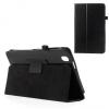 Samsung Galaxy Tab Pro 8.4 SM-T320, bőrtok, mappa tok, fekete