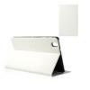 Samsung Galaxy Tab Pro 8.4 SM-T320, mappa tok, textil hatás, fehér