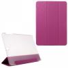 Samsung Galaxy Tab S3 9.7 SM-T820 / T825, mappa tok, Trifold, kéregminta, rózsaszín
