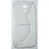 Samsung GT-i9500 Galaxy S4 S-line szilikon tok, átlátszó