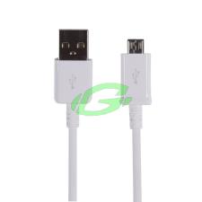 Samsung gyári micro usb fehér adatkábel 1,5m ECB-DU4EWE kábel és adapter