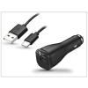 Samsung gyári USB szivargyújtós töltő + USB Type-C adatkábel - 5V/2A - EP-LN915U + EP-DG950CBE Adaptive Fast Charging (ECO csomagolás)