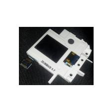 Samsung i9080,  i9082 Galaxy Grand csörgőhangszóró, headset csatlakozós átvezető fólia fehér mobiltelefon előlap