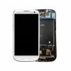 Samsung i9305 Galaxy S3 LTE fehér gyári LCD kijelző érintővel és kerettel