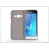 Samsung J120F Galaxy J1 (2016) szilikon hátlap - Flexmat 0,3 mm - fekete