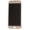 Samsung J330 Galaxy J3 2017 kompatibilis LCD modul, OEM jellegű, arany