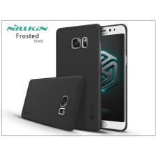 Samsung N930F Galaxy Note 7 hátlap képernyővédő fóliával - Nillkin Frosted Shield - fekete tok és táska