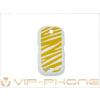 Samsung S3650 Corby akkufedél rock sárga*