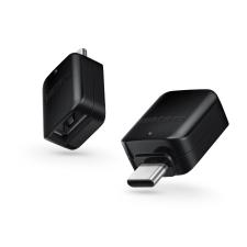 Samsung Samsung gyári OTG USB - USB Type-C átalakító adapter - GH96-12331A - fekete - (ECO csomagolás) mobiltelefon kellék