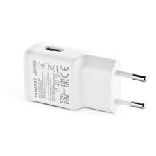 Samsung Samsung gyári USB hálózati töltő adapter - 5V/2A - EP-TA200EWE white - Adaptive Fast Charging (ECO csomagolás) mobiltelefon kellék
