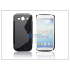 Samsung Samsung i9150 Galaxy Mega 5.8 szilikon hátlap - S-Line - fekete