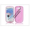 Samsung Samsung i9300 Galaxy S III hátlap - pink - S-Line