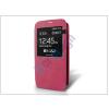 Samsung Samsung SM-G900 Galaxy S5 S-View flipes tok - pink