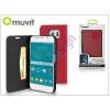 Samsung Samsung SM-G920 Galaxy S6 flipes tok kártyatartóval - Muvit Wallet Folio - pink