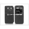 Samsung Samsung SM-G920 Galaxy S6 S-View Flexi oldalra nyíló flipes tok - fekete
