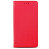 Samsung Smart magnet Samsung Galaxy A70 (2019) oldalra nyíló mágneses könyv tok szilikon belsővel piros