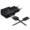 Samsung USB-C EP-TA20EBE Fast Charge, fekete