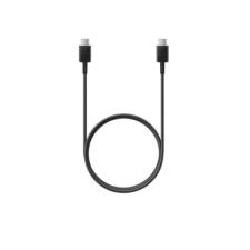 Samsung USB Type-C töltő- és adatkábel, USB Type-C, 100 cm, Samsung, fekete, gyári kábel és adapter