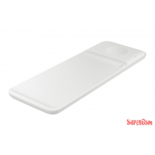 Samsung Wireless töltőállomás Trio, Fehér mobiltelefon kellék
