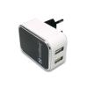 SANDBERG Hálózati töltőfej, 2x USB, univerzális, 2400 mAh / 1000 mAh,