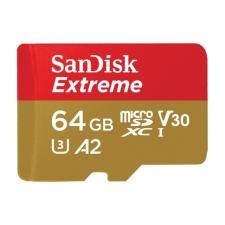 Sandisk microSDXC Extreme 64GB UHS-I A2 C10 memóriakártya