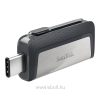 Sandisk Ultra Dual Drive 64GB, Type-C/Type-A USB 3.0, 150 MB/s