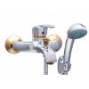 Sanimix Alfa-Gold kád csaptelep zuhanyszettel