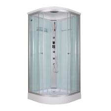 Sanimix Alíz íves hidromasszázs zuhanykabin kád, zuhanykabin