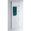 Sanotechnik Cikkszám: B620 BARI fürdőszobai fűtőtest, egyenes, fehér, középső bekötésű