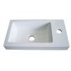 Sanotechnik 'D4001 öntött márvány mosdó'