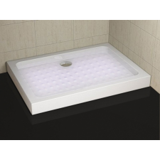 Sanotechnik PP79 Zuhanytálca fix előlappal kád, zuhanykabin