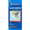 Santander térkép - Michelin 89