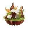 Santoro Nyuszik Pirouettes 3D Képeslap - Nyuszik - PS057
