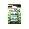 Sanyo /Panasonic Mignon ceruza akku típus HR-3U AA sorozat: 2700 (NiMH) 4db/csom