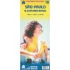 Sao Paulo és Dél-Brazilia térkép - ITM