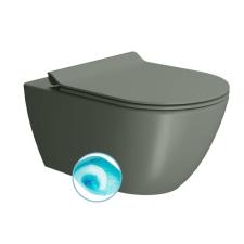 Sapho GSI PURA fali WC, SWIRLFLUSH, 55x36 cm matt agave (881504) fürdőszoba kiegészítő