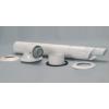 Saunier Duval Oldalfali kivezető készlet (60/100 mm, a 0020084572 cikkszám helyett) 0020219523
