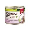 Schmusy Nature Macska Konzerv Pulyka+Nyúl 190g